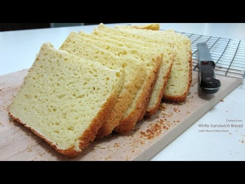 Gluten-Free White Sandwich Bread (with Bread Machine) | Dietplan-101.com
