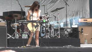 Blonde redhead spring by summer fall