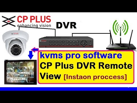 CP PLUS DVR KVMS PRO INSTAON PROCCESS  TUTORIAL  (View Cp Plus camera  on PC Or Mobile)