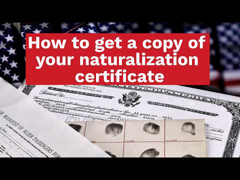 How to Get a Copy of Your Naturalization Certificate?
