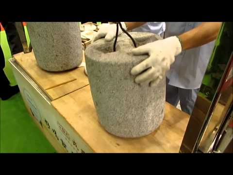 Puerh Tea Cake Making Process