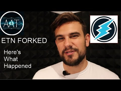 Electroneum Fork Complete! - Heres what Happened!