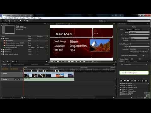 Adobe Encore CS6 Tutorial   Building Playlists in Encore   InfiniteSkills