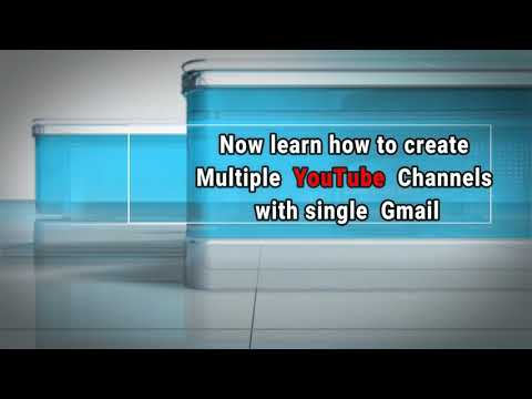 How to create YouTube channel | Create multiple YouTube channels with a single gmail ID | TECH GURU