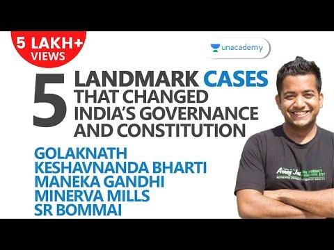 5 Landmark Cases That Changed India's Governance: Golaknath, Keshvananda Bharti, etc. [UPSC CSE/IAS]