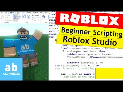 How To Script On Roblox For Beginners - Roblox Studio Overview - Episode 1 - Roblox Scripting Basics