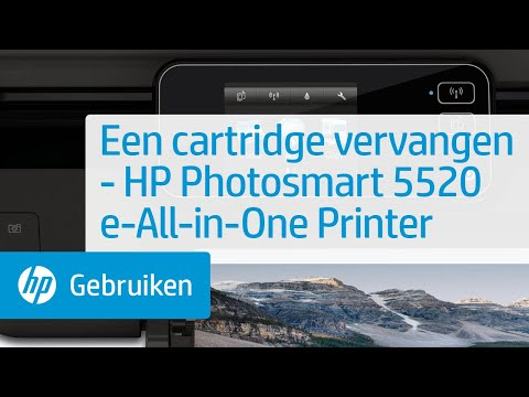 Een cartridge vervangen - HP Photosmart 5520 e-All-in-One Printer