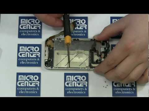 iPhone 4 Verizon/Sprint Screen Repair and Replacement [Disassembly] By MicroCenter