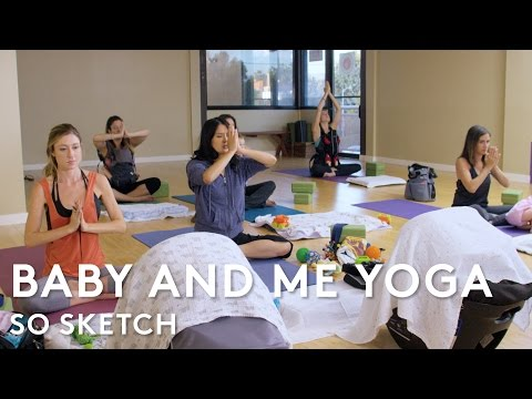When Things Go Bad During Baby & Me Yoga | So Sketch | RIOT