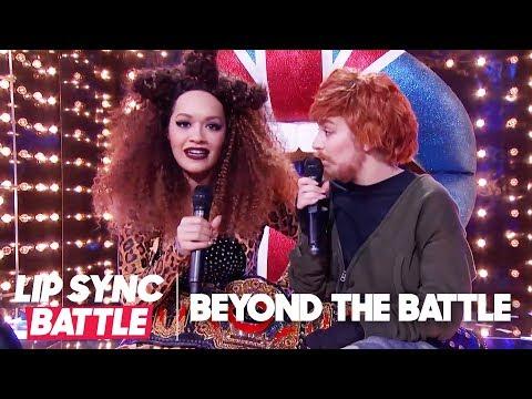 Rita Ora & Charli XCX Go Beyond the Battle | Lip Sync Battle