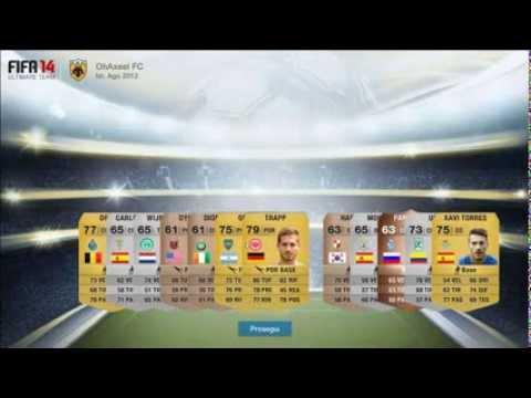 FIFA 14 ULTIMATE TEAM WEB APP MEGA PACK OPENING ITA | FIFA 14 WEB APP APERTURA PACCHETTI