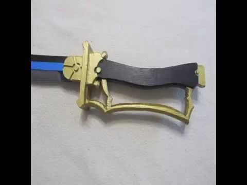 Madoka Magica Cómo hacer la espada de Sayaka Miki / Madoka Magica How to make Sayaka Miki's sword