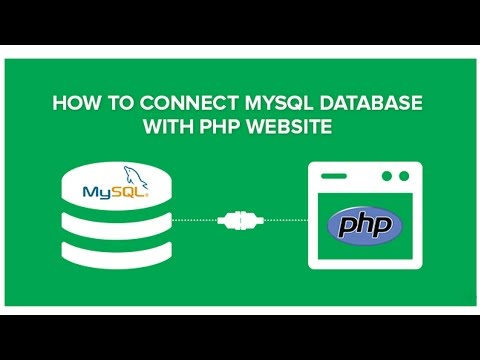 8) Connecting to mysql database via php - Secure PHP Login System