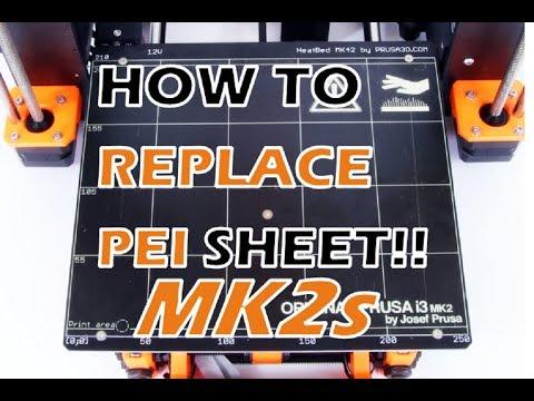 😁Tutorial -  Replace PEI Sheet Without Freezer