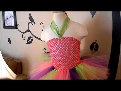 How to Attach a Felt Embellishment to a Tutu Dress Crochet Top