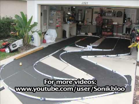 Home Made Mini-Z Race Track