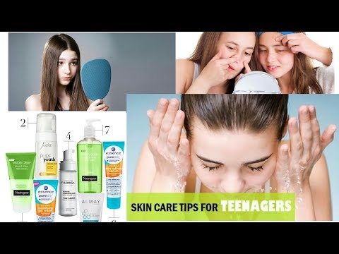 SKIN CARE TIPS FOR TEENAGE|| SKIN CARE ROUTINE FOR || OILY ,DRY, NORMAL, COMBINATION||