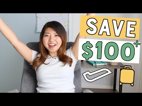 12 TRAVEL HACKS to Save You Time, Space, and MONEY!