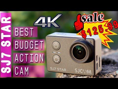 Best Budget 4K Action Cam SJCAM SJ7 STAR - Huge Discount Only $125 (8K INR)