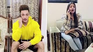 #Asimanshi Asim Riaz And Himanshi Khurana New Video Together ❤️ || Playing Game During Lockdown