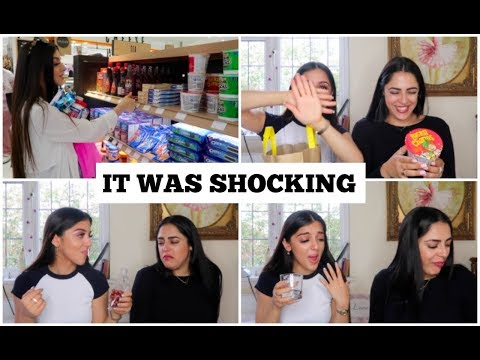BRITISH PERSIAN GIRLS TRY AMERICAN CANDY | persianbunny