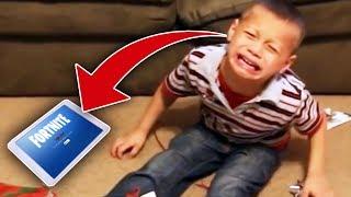 5 DzieciakÓw UzaleŻnionych Od Fortnite !!!