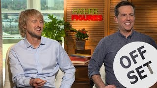 'Just say wow!': Owen Wilson teaches Ed Helms to do an impression of him