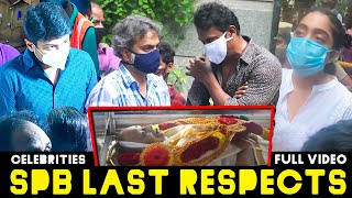 Celebrities pay Last Respects to Singing Legend SPB\