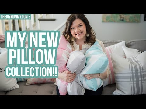 MY NEW PILLOW COLLECTION IS LIVE!