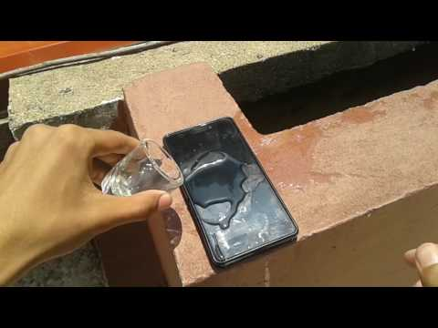 LENOVO A7000 WATER DROP TEST