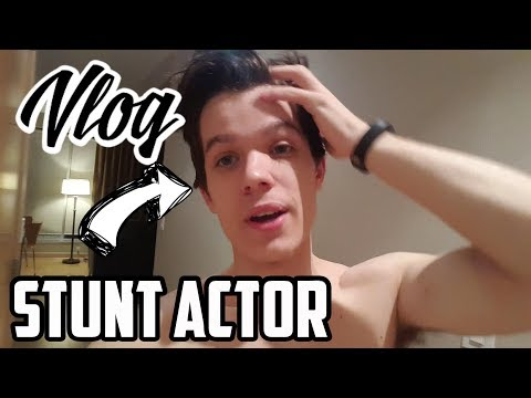 Day in the Life of a Stunt Actor | Toronto Vlog