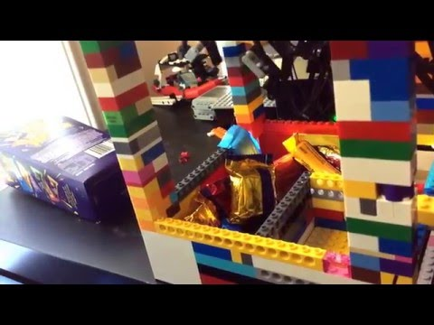 How to make lego claw machine that works -