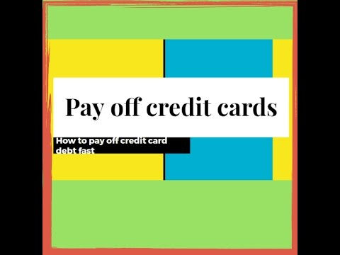 Pay off credit card debt-A system for how to pay off credit card debt(Fast)