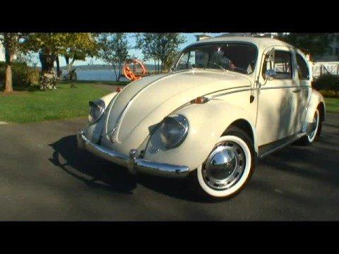 Classic 1964 VW Beetle Bug Sunroof Sedan Restored on eBay