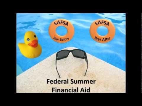 Understanding Summer Financial Aid