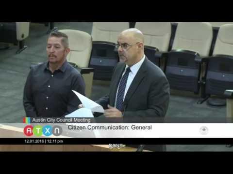 Civil Rights Lawyer Robert Ranco Criticizes Austin Police Department