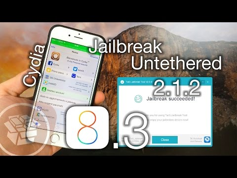 Jailbreak iOS 8.3 Untethered con TaiG 2.1.2 + Tweaks funzionanti!