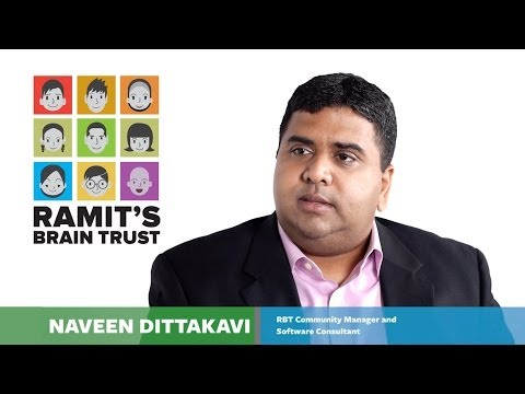How to become successful, with Naveen Dittakavi | Ramit's Brain Trust