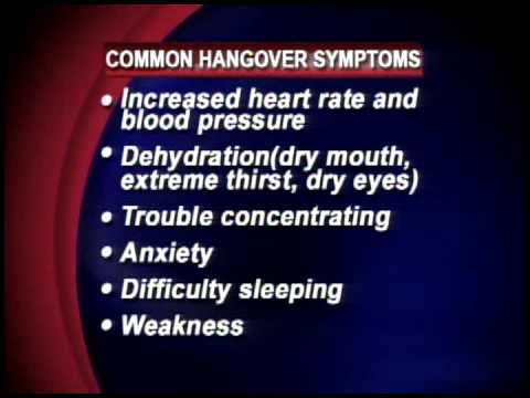 Hangover Symptoms and How to Avoid Them