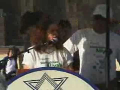 Kotel Speech.South African Aliyah.July2009.wmv