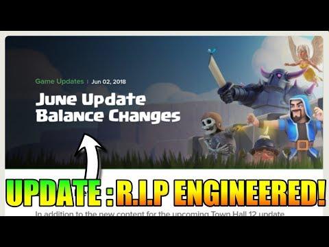 NEW UPDATE : R.I.P ENGINEERED PLAYER   NEW BALANCING CHANGE UPDATE