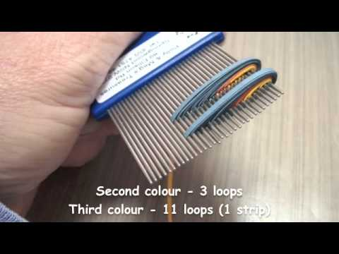 Quilling on a Comb