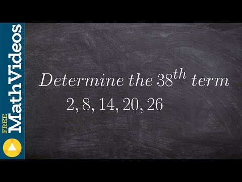 Given the explicit formula of an arithmetic sequence to determine the 38th term