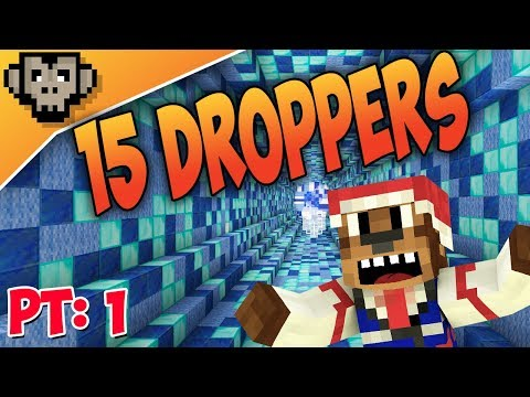 15 Droppers Part One | Present Hunting | Minecraft Custom Map