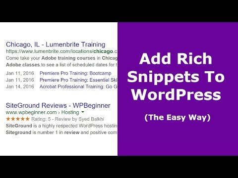 How To Add Rich Snippets To WordPress (The Easy Way)