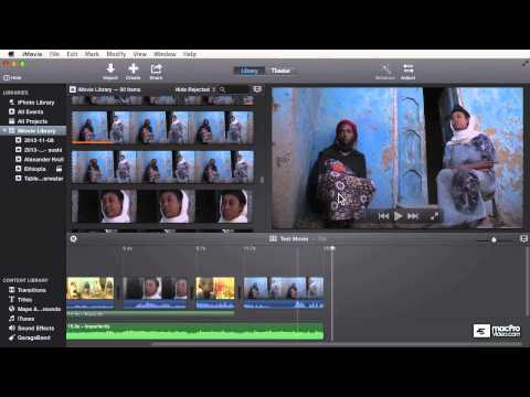 iMovie 101: Getting Started With Your Footage - 8. Drag and Drop Importing