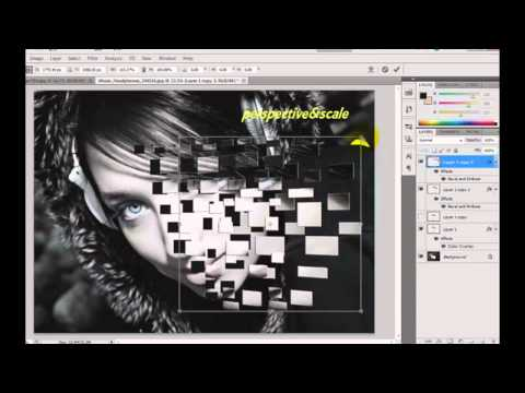 Photoshop CS5  Face Explosion Effect Tamil Tutorial