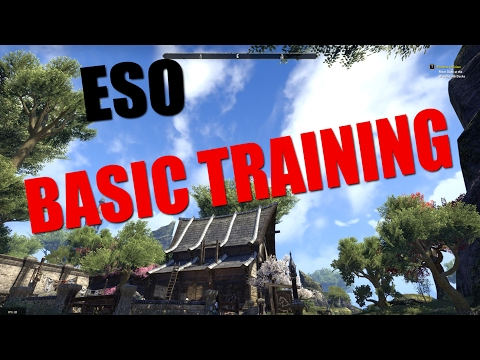 BASIC TRAINING!! ESO New Player Guide to help you get started Sernoir – Elder Scrolls Online