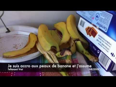 Tellement vrai, les accros de la peau de banane