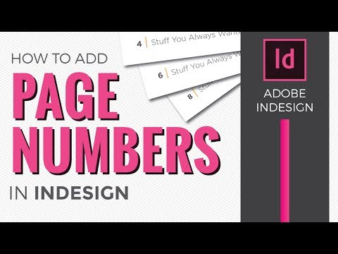 Xxx Mp4 Page Numbers In InDesign CC 2018 How To Add Using Master Pages 3gp Sex